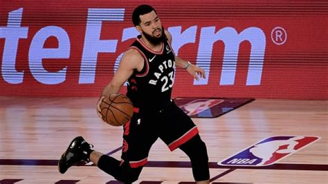 Fred VanVleet signs 4-year, $85M US deal with Toronto ...