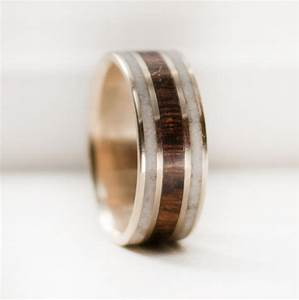 mens wooden wedding bands as alternative rings With mens wood wedding rings