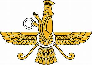 Faravahar - Winged Symbol of Zoroastrianism