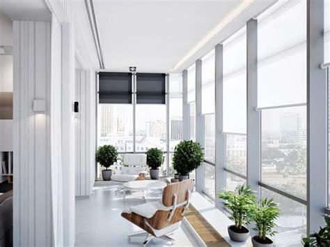 Modern Sunroom by Modern Multifunctional Apartment