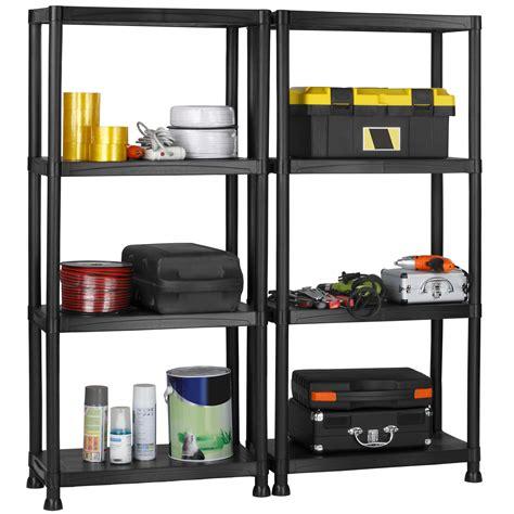 vonhaus  tier garage shelving unit  wall brackets