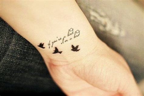 tiny quote tattoos youll  crazy  collegetimescom