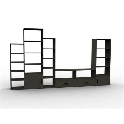 cuisine sous escalier meuble tv à configurer bibliothèque caissons et