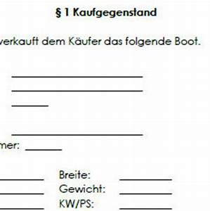 Kaufvertrag Gekauft Wie Gesehen : kaufvertrag f r ein boot vordruck zum download ~ Lizthompson.info Haus und Dekorationen