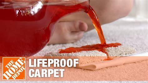 lifeproof carpet  home depot youtube