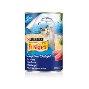 makanan kucing friskies pouch tuna sardine 1 indo pet centre from our to your pet