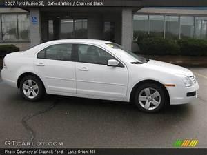 2007 Ford Fusion : oxford white 2007 ford fusion se charcoal black interior vehicle archive ~ Medecine-chirurgie-esthetiques.com Avis de Voitures