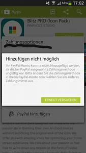 Play Store Kann Nicht Geöffnet Werden : paypal konto kann im play store nicht hinzugef gt werden androidpit forum ~ Eleganceandgraceweddings.com Haus und Dekorationen
