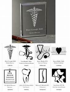 Personalized Medial Specialty Paperweight choose from 8