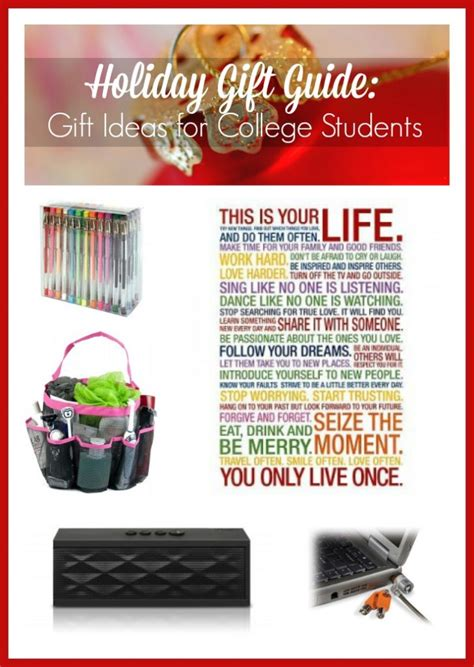 holiday gift guide gift ideas college students
