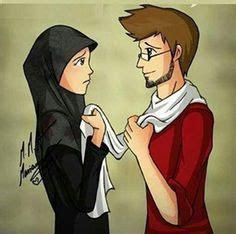 gambar anime islam romantis 19 gambar kartun islami romantis sedih anak lucu bergerak