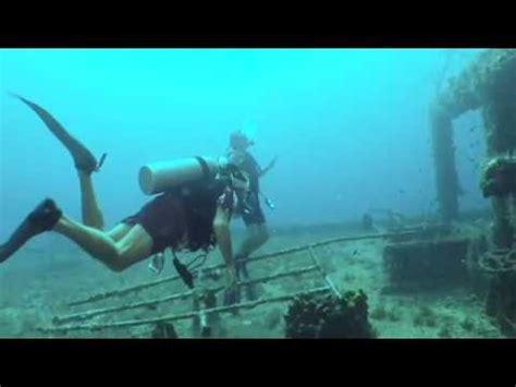 scuba diving  santa claus  st thomas virgin islands