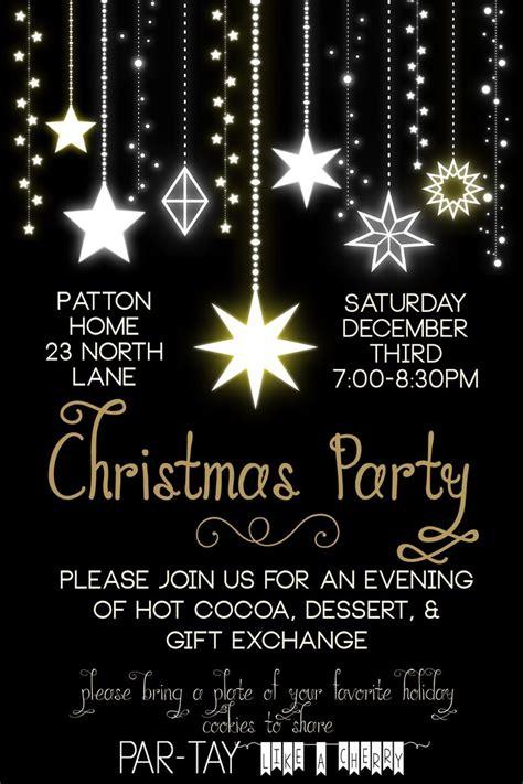 christmas party invitation christmas invitations