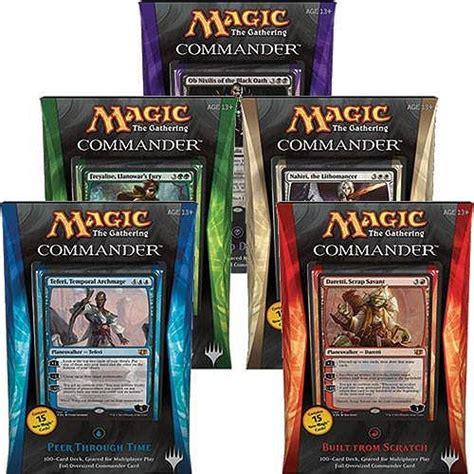 Magic The Gathering Preconstructed Decks 2014 by Commander 2014 Box 5 Mazzi Ita