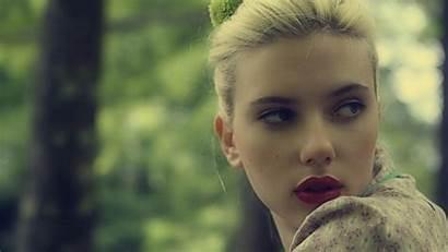 Scarlett Johansson Face Lipstick Hair