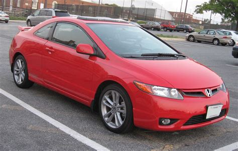 Honda Civic Coupe Red
