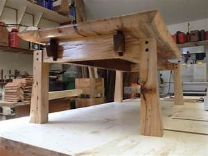 Japanese Style Salvaged Barn Wood Coffee Table Holz