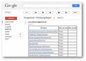 google drive find out at a glance who can access your files With sharing a file in google drive