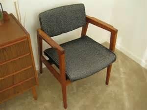 mid century modern furniture w h gunlocke arm chair