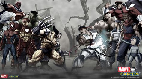 13 Marvel Vs Capcom Hd Wallpapers Backgrounds