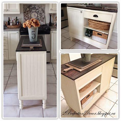 transform  vintage deskconsole   kitchen island small space kitchen ideas cream
