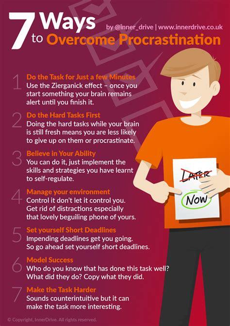 7 Ways To Overcome Procrastination