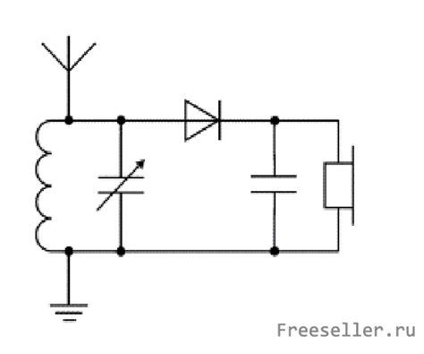 Детекторный приёмник своими руками схема . обзор техники электроники и криптовалюта