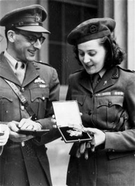 Odette Hallowes - SOE agent in occupied France (part of