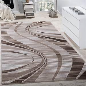 Www Otto De Teppiche : teppich wohnzimmer konturenschnitt wellen abstrakt design meliert beige creme teppiche kurzflor ~ Indierocktalk.com Haus und Dekorationen
