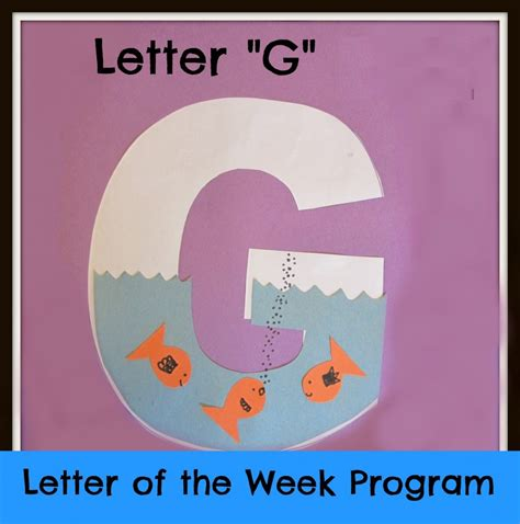 letter g craft template