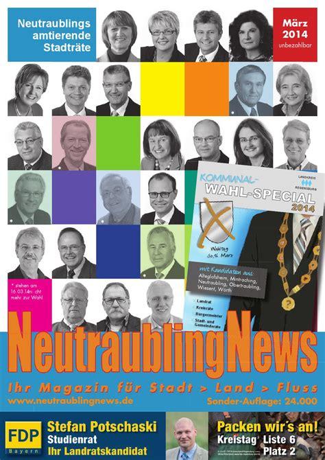 Was Blüht Im März by Neutraublingnews M 228 Rz 2014 By Schnappcom Gmbh Werbeagentur