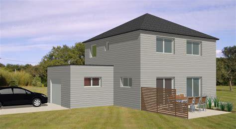 modele maison emeline becokit maisons ossature bois