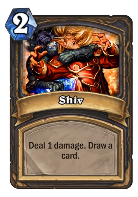 basic shaman deck hearthstone 2014 shiv hearthstone card