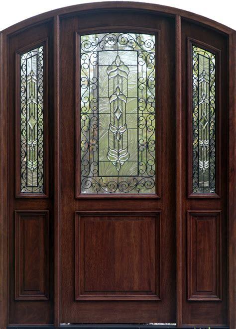 Wood Exterior Doors With Glass   Marceladick.com