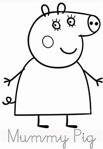 baby potatoes family of peppa pig With peppa pig drawing templates