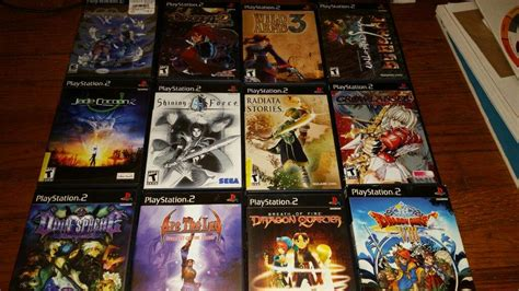 Ps2 Rpgs With The Rest Of My Ps2 Games