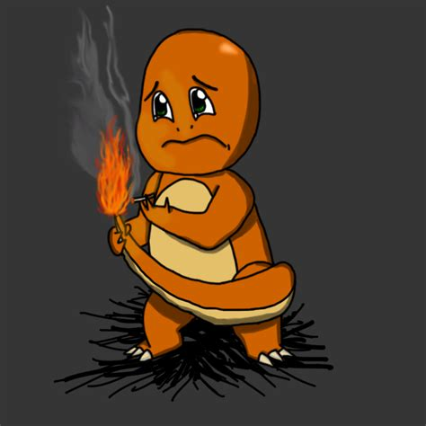 Sad Pokemon: Charmander by Desmondeeex on DeviantArt