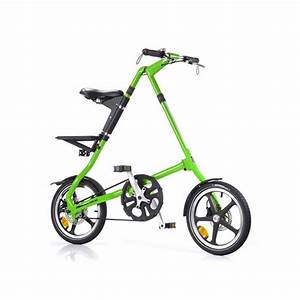 Strida LT Folding Bike Neon Green Strida Touch of