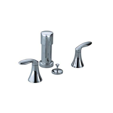 kohler coralais bidet faucet kohler coralais 2 handle bidet faucet in polished chrome k