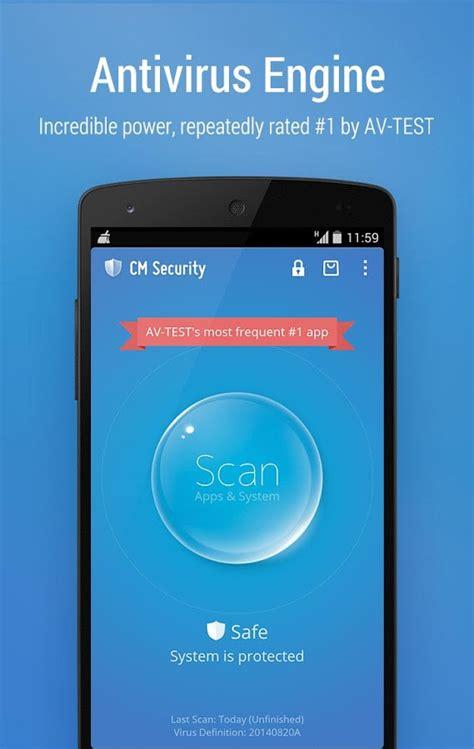 cm security android cm security antivirus applock screenshot