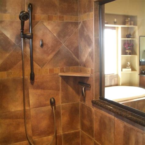 cool tile showers 30 pictures of porcelain tile in a shower