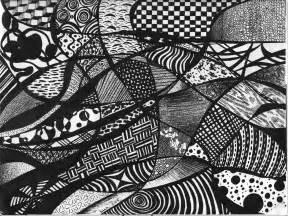 Trippy Pattern Drawings