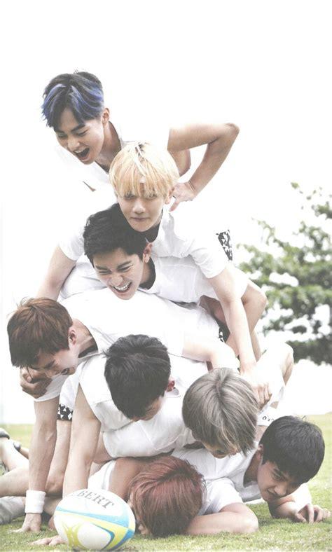 exo from happiness exo fiji photobook dear happiness kai d o sehun chen