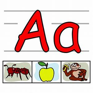 abc individual alphabet letters clipart kid clipartix With individual alphabet letters