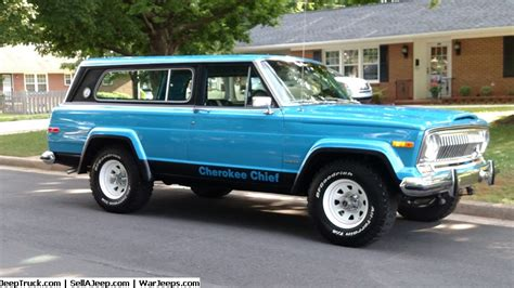 jeep cherokee chief restoration modified