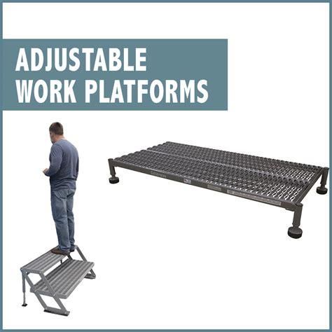 cotterman work platforms steel work platforms stands