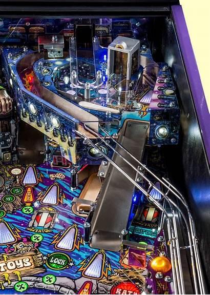 Pinball Aerosmith Premium Upper Machine Playfield Stern