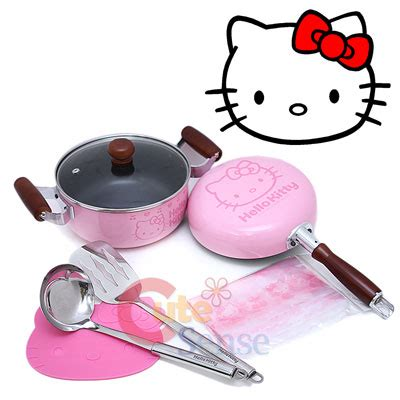 hello kitty kitchen set sanrio hello kitty kitchen cookware pink cooking set