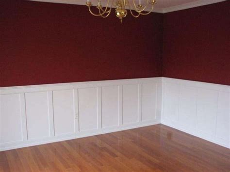 portfolio of installed wainscoting residential