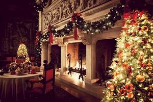 Holiday, Decoration, With, Garlands